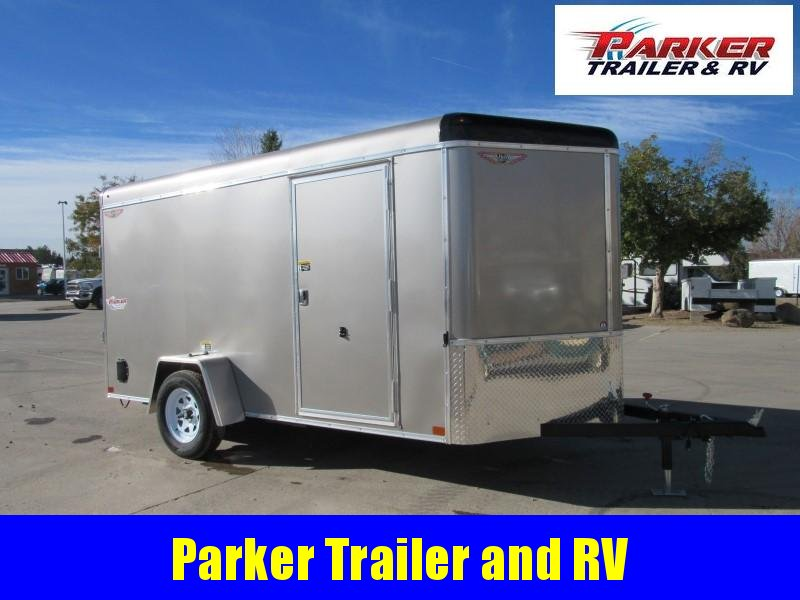 2021 H&H H7212SRTV-035 Enclosed Cargo Trailer
