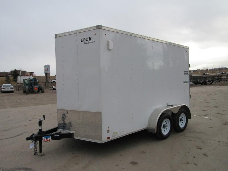 2014 Look Trailers 7X12TA ELEMENT Enclosed Cargo Trailer