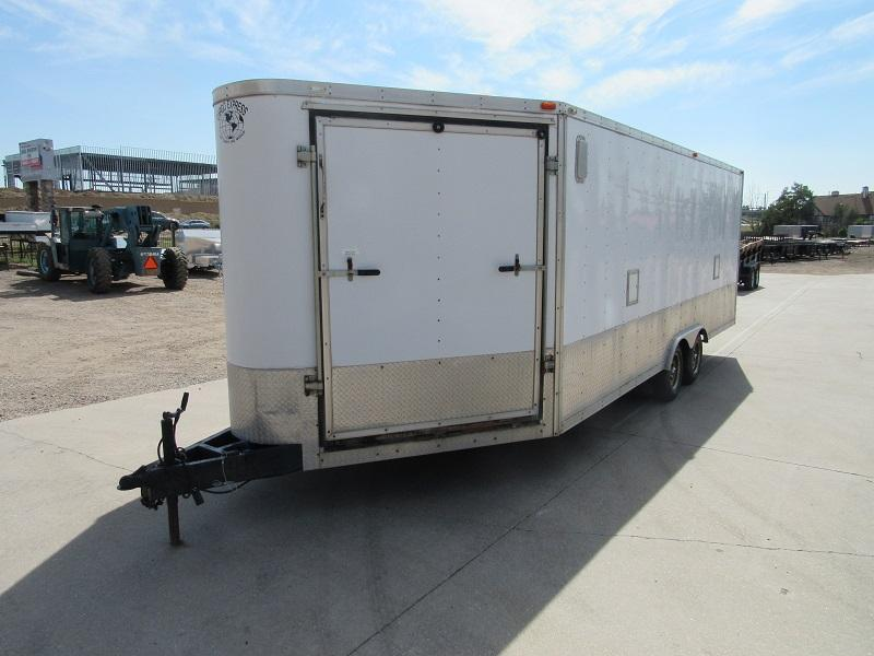 2001 Cargo Express 8.5X20 Enclosed Cargo Trailer