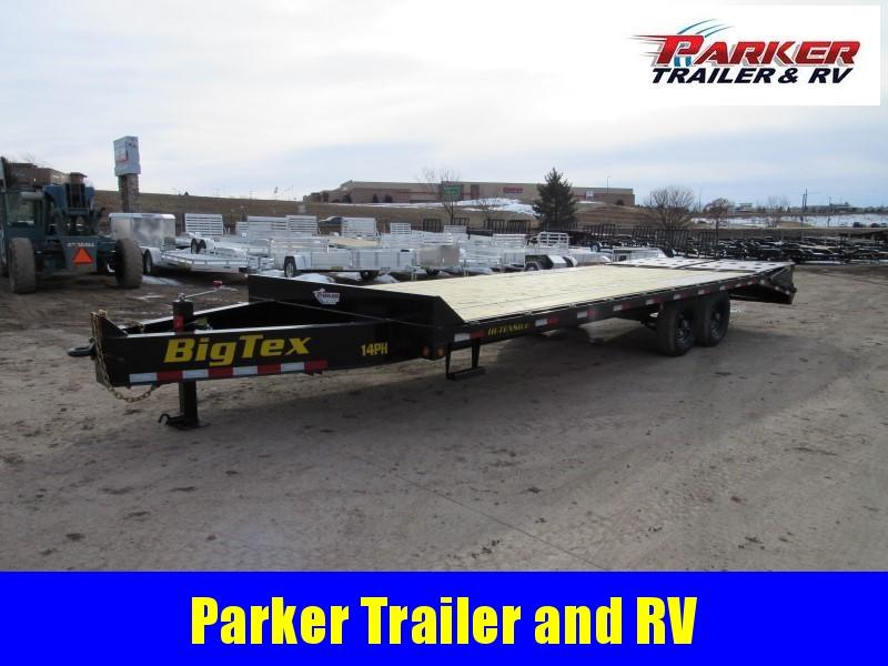 2020 Big Tex Trailers 14PH-20BK+5MR Flatbed Trailer