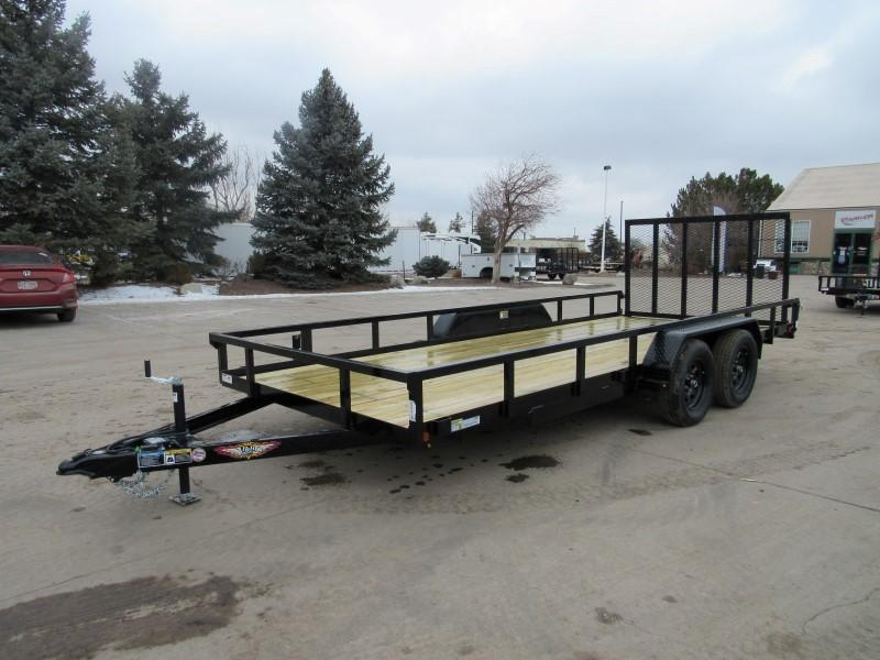 2021 H&H H8218TRS-070 Utility Trailer