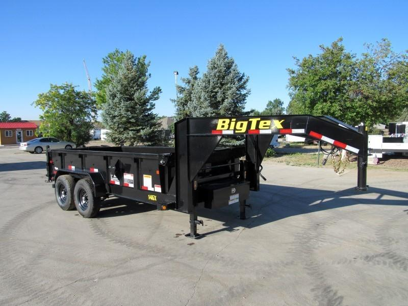 2021 Big Tex Trailers 14GX-14BK6SIRPD Dump