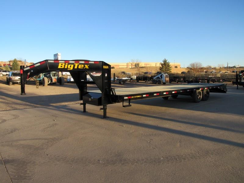 2021 Big Tex Trailers 16GN-25BK+5MR Flatbed Trailer