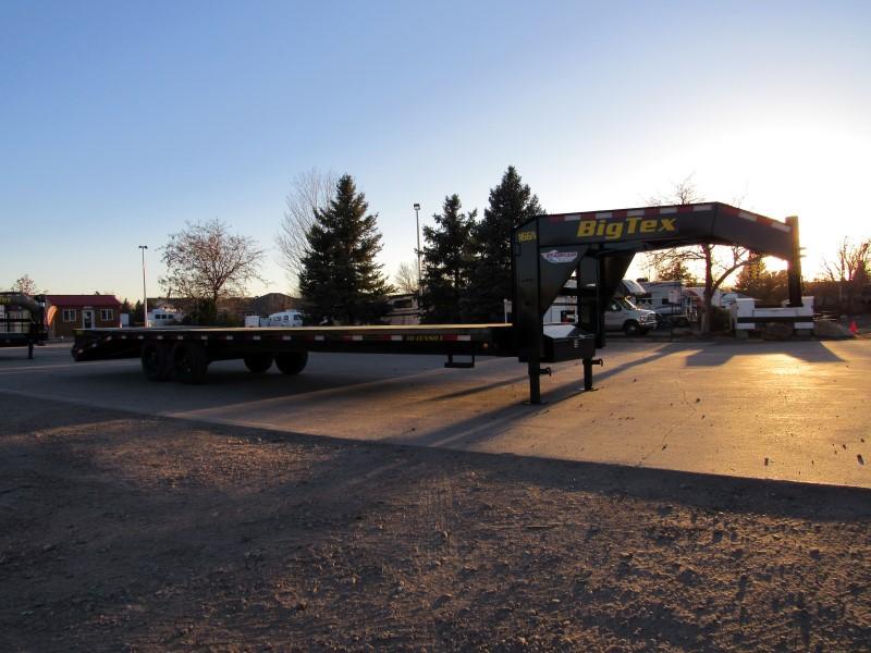 2021 Big Tex Trailers 16GN-25BK+5MR Flatbed Trailer