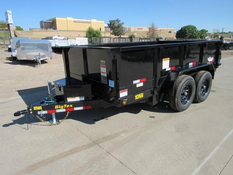 2022 Big Tex Trailers 10SR-12XLBK6SIR Dump