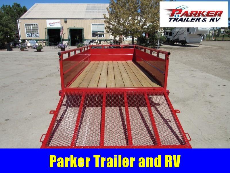 2021 Big Tex Trailers 35SV-14 Utility Trailer