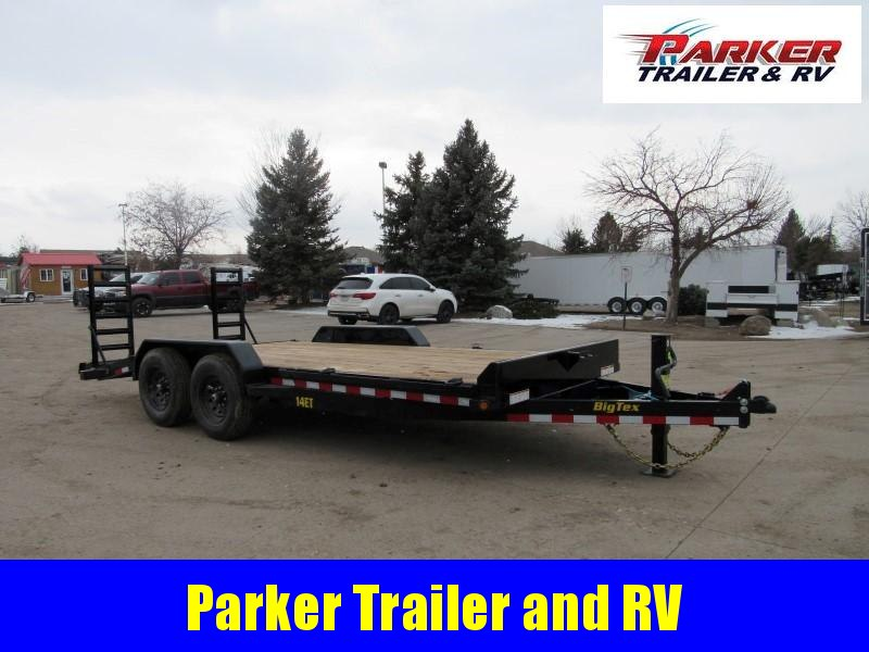 2021 Big Tex Trailers 14ET-18BK-KR Flatbed Trailer