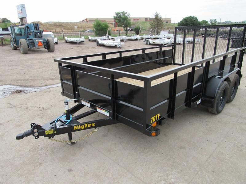 2022 Big Tex Trailers 70TV-14 Utility Trailer