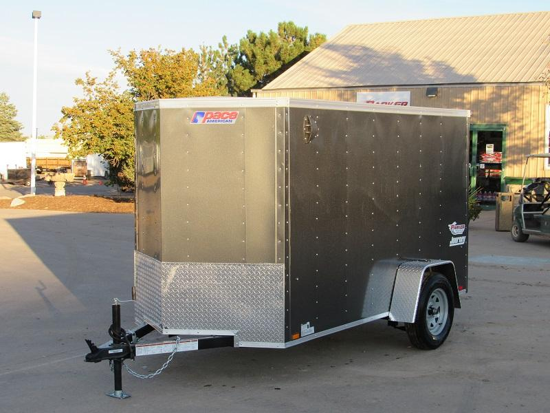 2022 Pace American PSCBA5.0X10SI2FE Enclosed Cargo Trailer