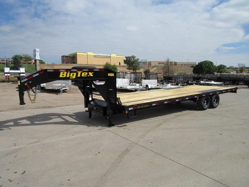 2022 Big Tex Trailers 14GN-25 Flatbed Trailer