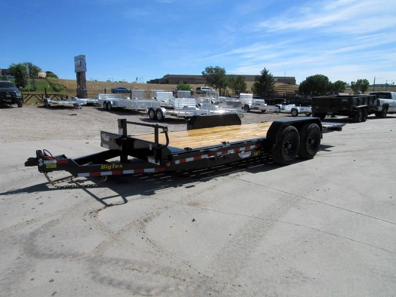 2020 Big Tex Trailers 14FT-20 Flatbed Trailer