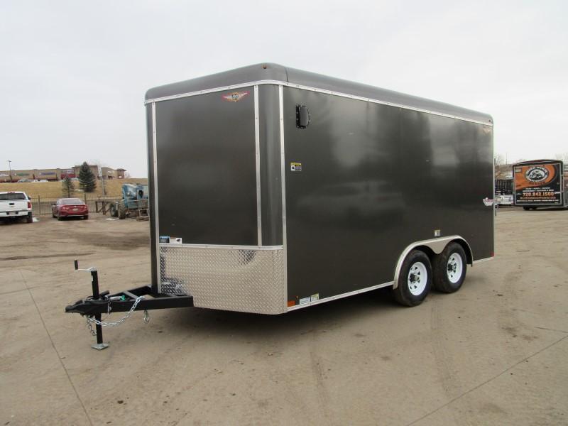 2021 H&H H10114TRTV-100 Enclosed Cargo Trailer