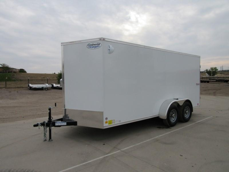 2021 CONTINENTAL CARGO TXVA716TA3 Enclosed Cargo Trailer