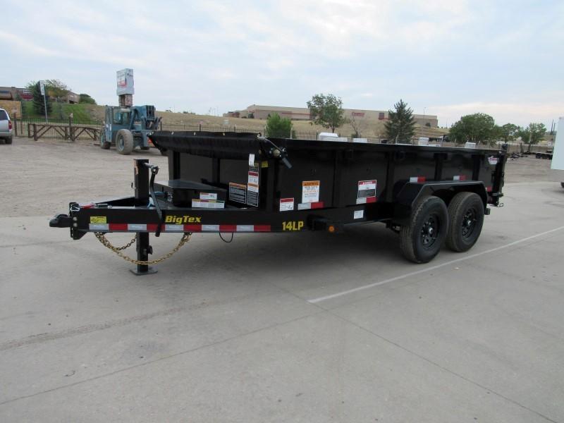 2021 Big Tex Trailers 14LP-14BK6SIRPD Dump
