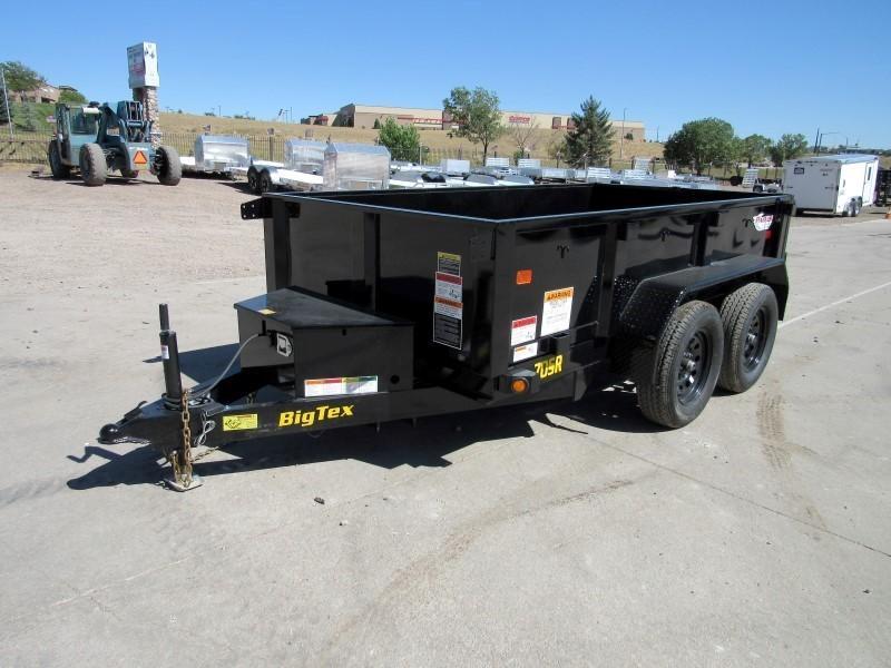 2021 Big Tex Trailers 70SR-10-5WDD Dump