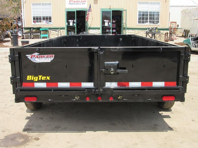 2021 Big Tex Trailers 14LD-14BK Dump