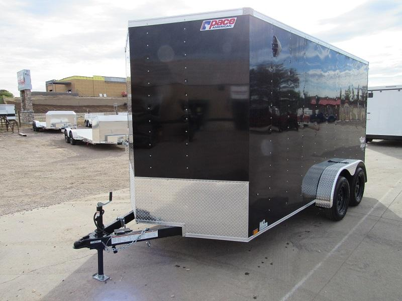 2022 Pace American PSCAB7.0X14TE2FF Enclosed Cargo Trailer