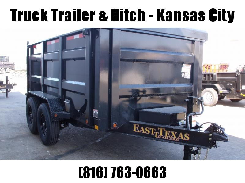 Dump Trailer  83 X 12  I-Beam Type 14000 Gvw Tarp Included  14 Ply Tires