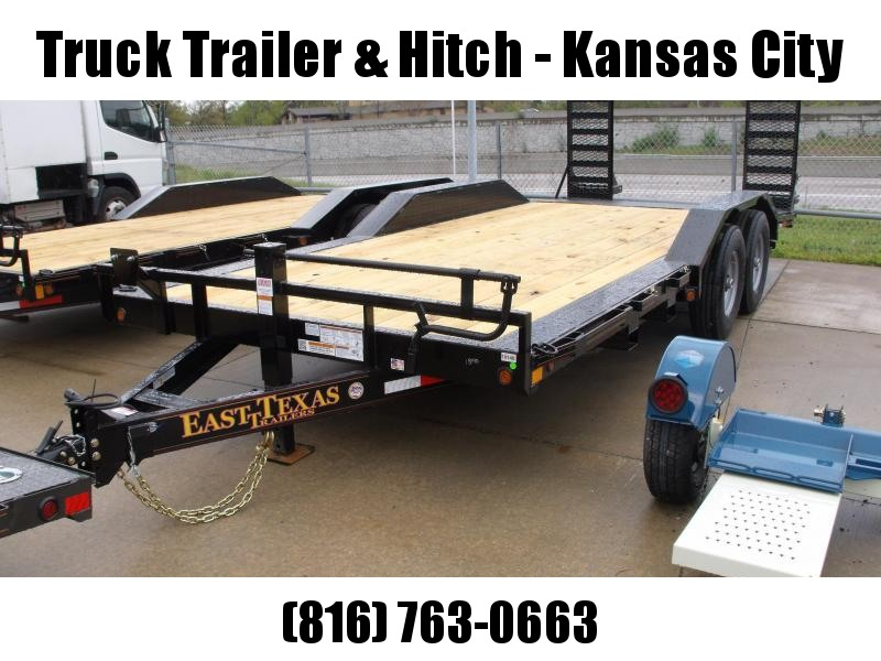 "Eqpt Trailer Bobcat Trailer 83 X 20 Metal Dove  """"Drive Over Fenders """"""Combo Ramps   14000 GVW"