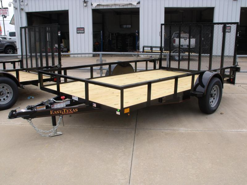 Utility Trailer 83 X 12 Spring Assisted Gate Wrapped Tongue 2990 Axle