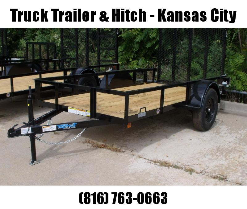"""TopHat 5 X 10 Utility Trailer 48"""" X Lay-N Tailgate"""