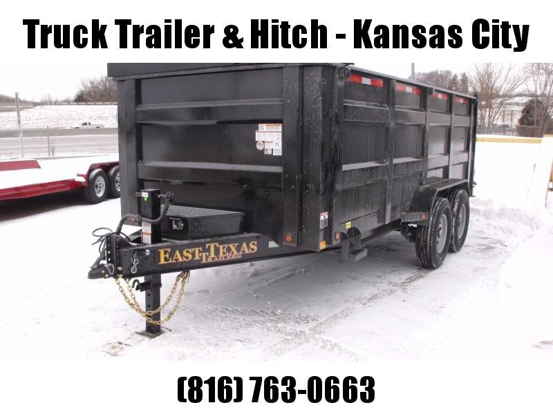 Dump Trailer  83 X 16 Scissor Lift  4' Walls 20 K Hoist  I-Beam Type 14000 Gvw   Hi-Wall Tarp Included 14 Ply Tires
