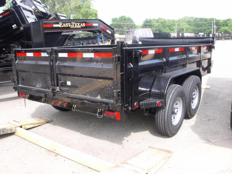 Dump Trailer  83 X 14  I-Beam Type 14000 Gvw Tarp Included 20K Inverted Scissor Hoist