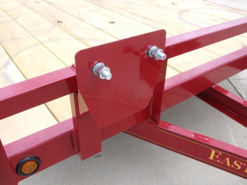 83 X 20 Dove  Car Hauler 7000 GVW   Brakes Ramps Red In Color
