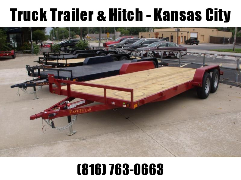 83 X 20 Dove  Car Hauler 7000 GVW   Brakes Ramps Red In Color
