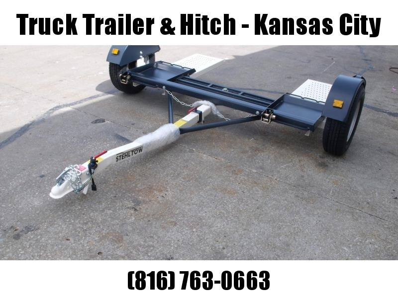 """NEW  Stehl Tow  2021    Tow Dolly     80""""  Straps Included No Brakes"""