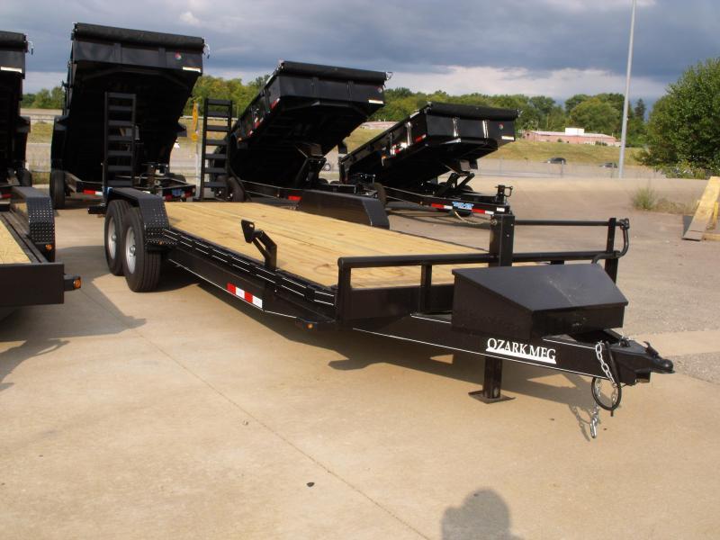 "Equipment Trailer 82"" X 22' Dove 14000 GVWR"