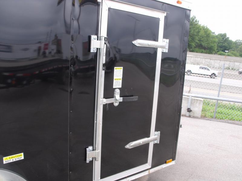 Enclosed Trailer 5 x 10  BARN DOOR    BLACK In Color All Tube Construction