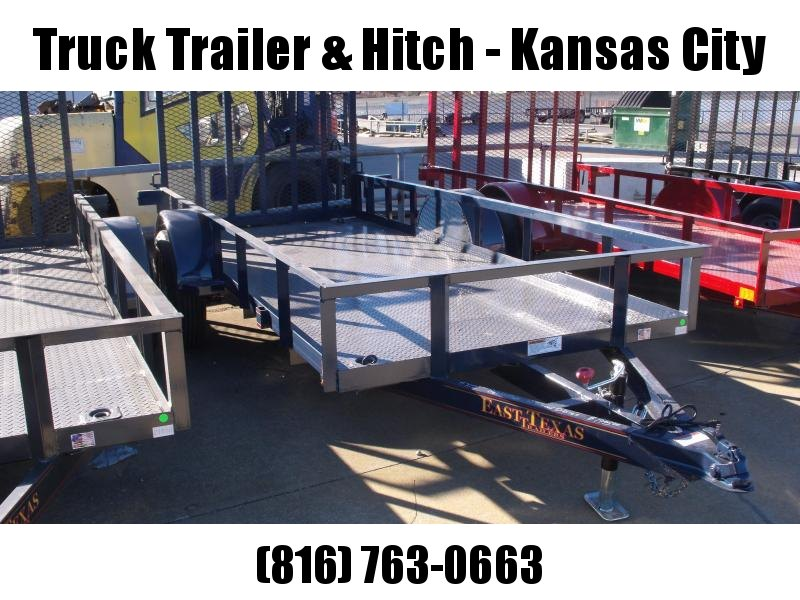 Utility Trailer 5 X 12 Metallic Blue In Color Spring Assisted Ramp 2990 Axle