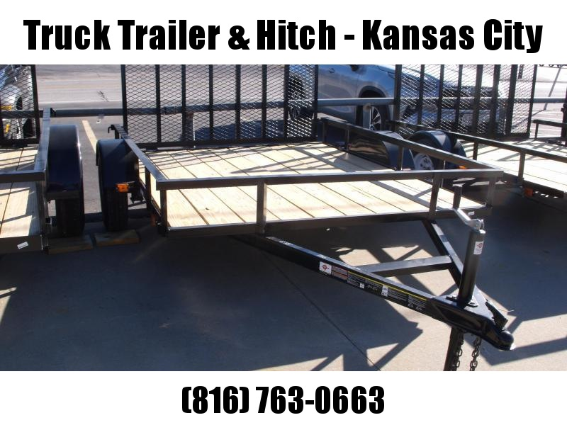 Utility Trailer 6 X 8 Wood Deck Ramp