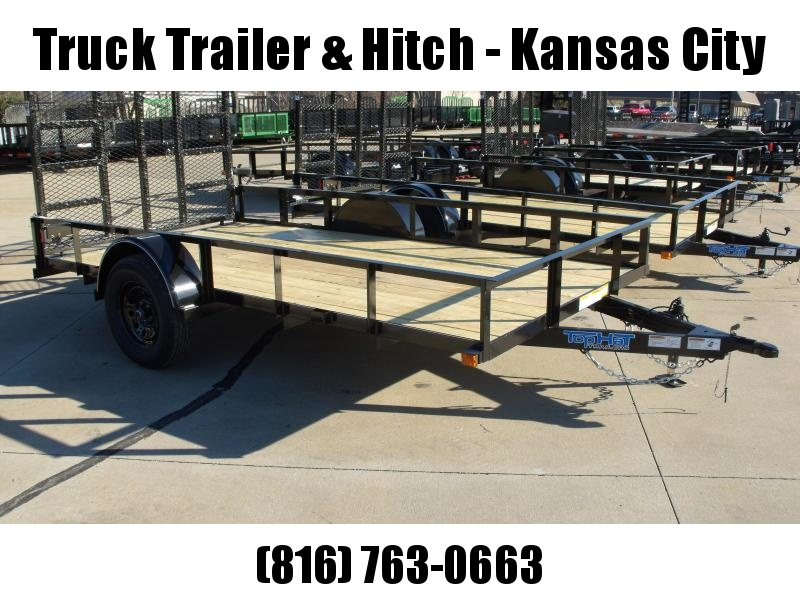 Utility Trailer 77 X 12  HD  Gate 2990 Axle