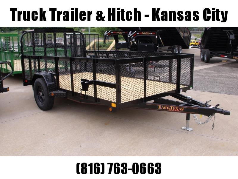 High-Wall Trailer 77 x 12 Utility Trailer Mesh Sides  2990 Axle
