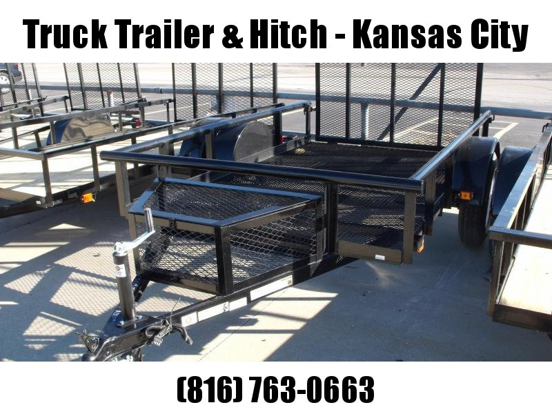 Utility Trailer 5.5 x 9  Mesh Trailer With  Ramp And Tool Box 2990 Axle