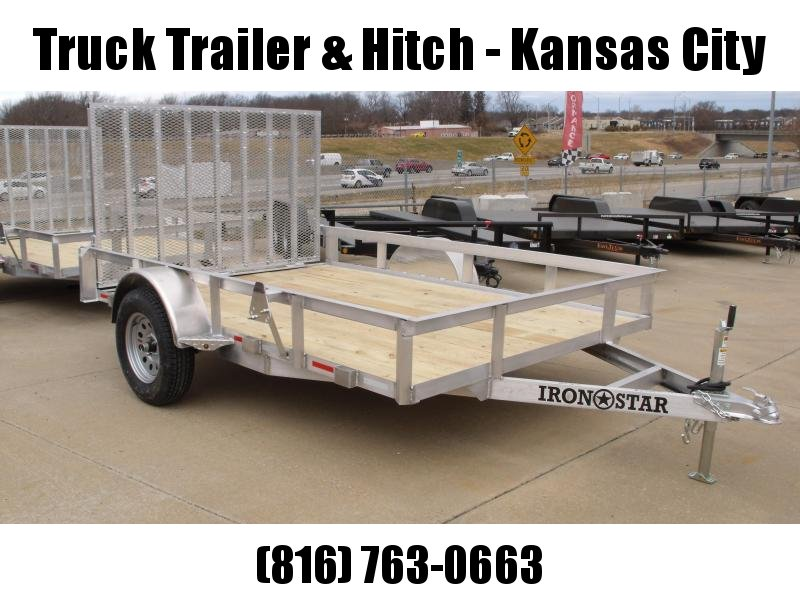 Aluminum 83 X 10  Utility Trailer With Ramp