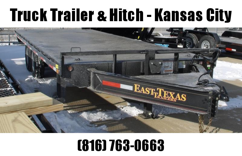 "Deck Over Flatbed Trailer 120"" X 20' Ramps 14000 GVWR"