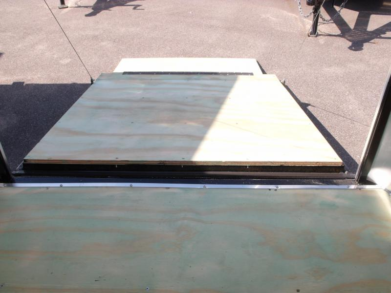 Enclosed Trailer 5 X 10 Ramp  Color Silver Mist In Color ALL TUBE Construction 5'  Interior