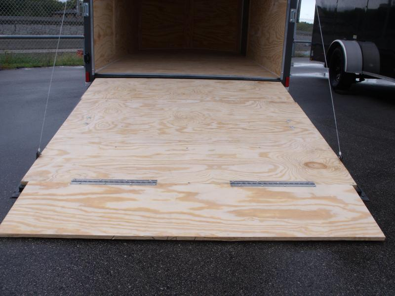 """Enclosed Trailer 6 X 12 Ramp  6' 3""""  Interior Charcoal  In Color  All Tube Construction"""