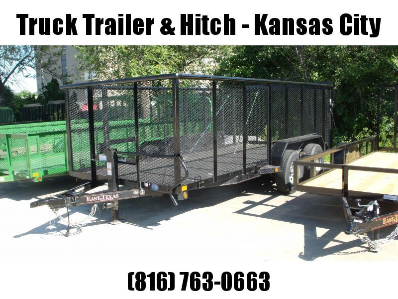 Used Trailer 4' Hi-Wall 83 X 16  Electric  Brakes 7000 GVW  ALL Steel !!!