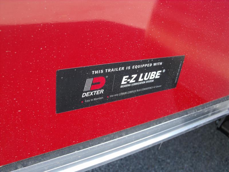 Enclosed Trailer 5 x 8    Enclosed Cargo RED  In Color