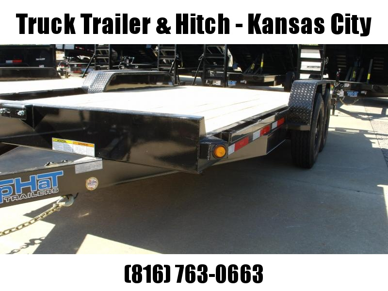 Equipment Trailer 83 X 16 Dove Ramps 14000 GVWR  14 Ply Tires