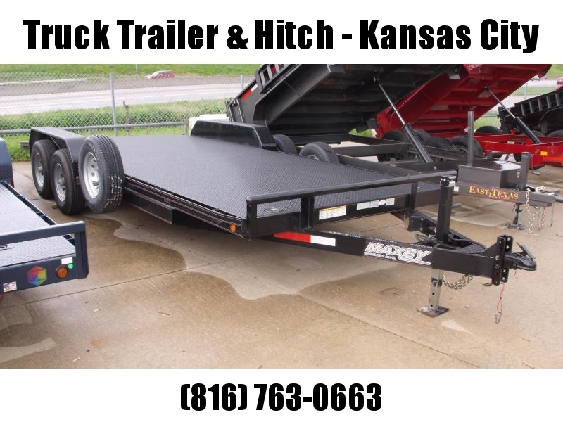 2014 MAXXD Metal Deck Car Hauler 12K Car / Racing Trailer
