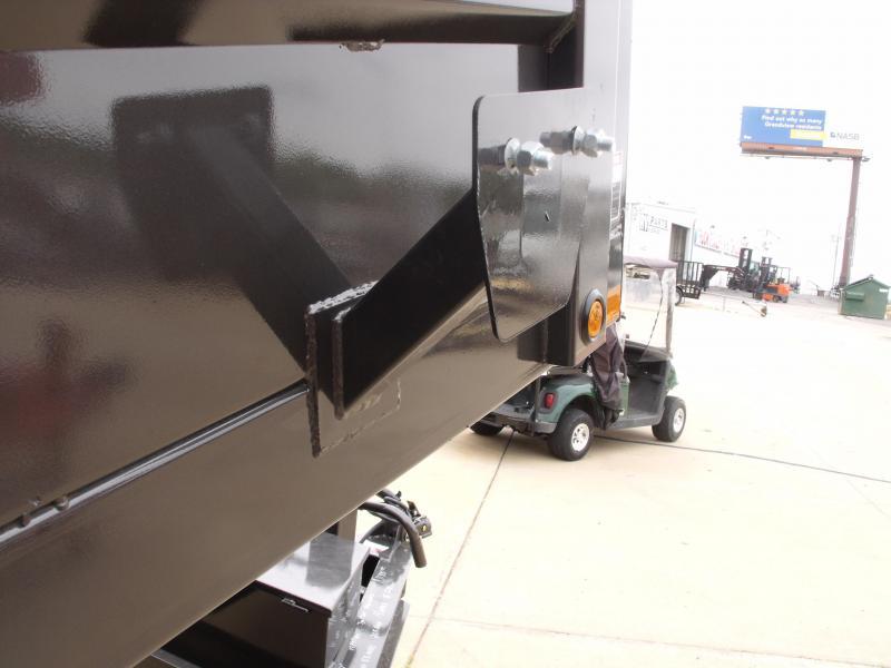 Dump Trailer  80 X 14  I-Beam Type 16000 Gvw   Tarp Included 20K Inverted Scissor Hoist 4' Walls