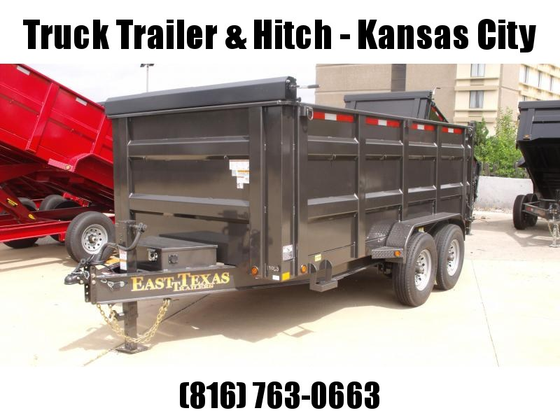Dump Trailer  80 X 14  I-Beam Type 16000 Gvw   Tarp Included 20K Inverted Scissor Hoist 4' Walls