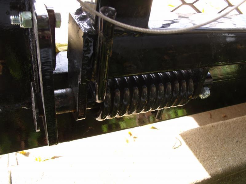 "Utility Trailer 77 x 10   Pipe Rail Top  Rear  48"" Lay-N-Tailgate 2990 Axle"