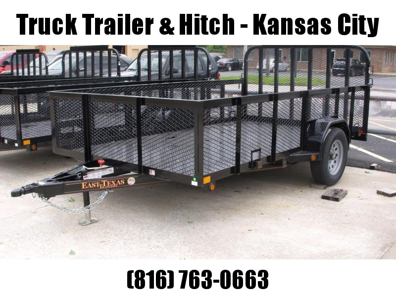 High-Wall Trailer 83 x 12 All Steel Trailer Mesh Sides  2990 Axle