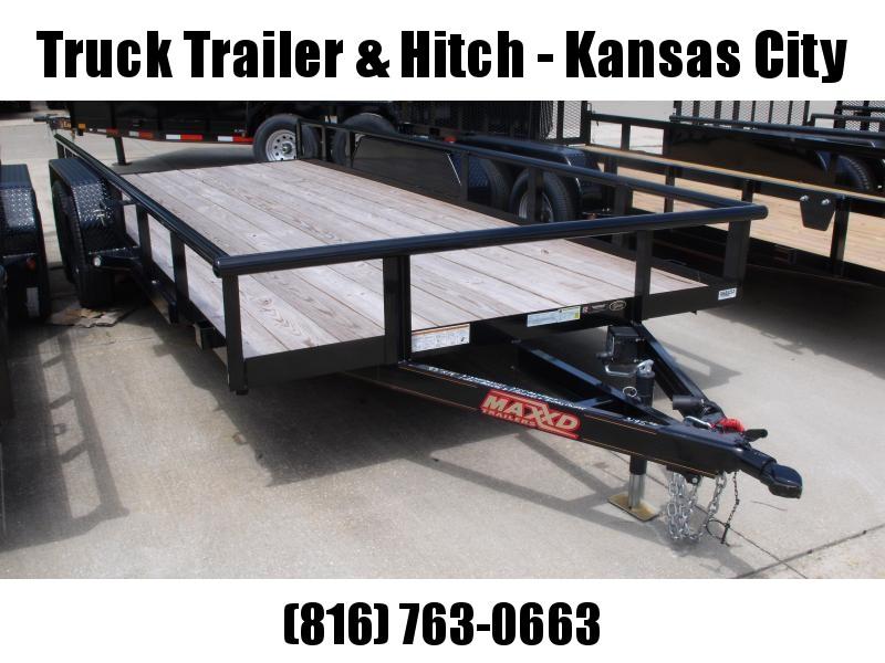Utility Trailer ATV Trailer 83 X 16  Brakes Pipe Rail Top  7000 GVW